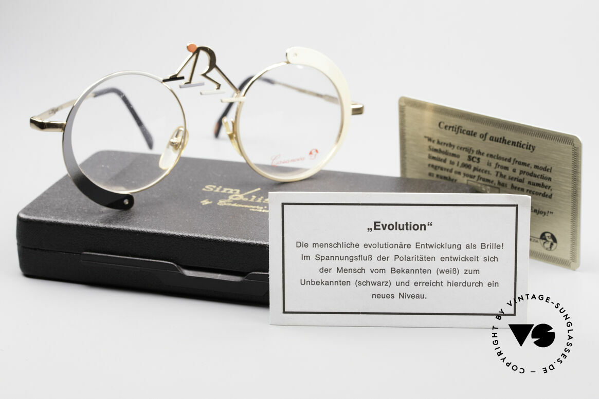 Casanova SC5 Simbolismo Evolution Glasses, NOS - unworn (like all our LIMITED vintage eyeglasses), Made for Men and Women