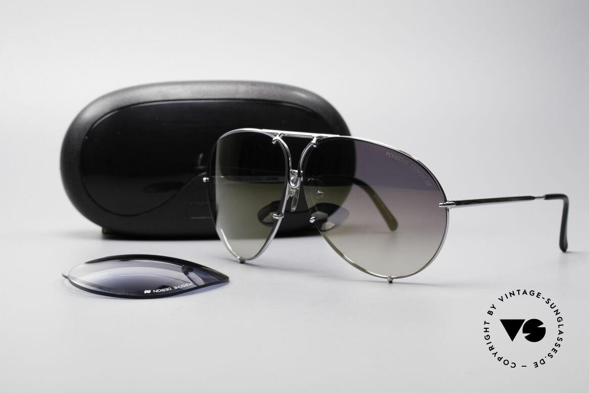 Porsche 5621 Mirrored 80's Aviator Shades