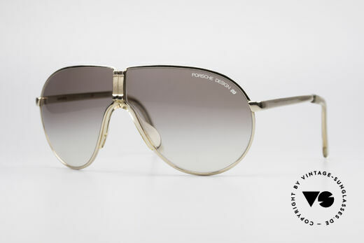 78f189d53f Porsche 5622 Rare 80 s Folding Sunglasses Details