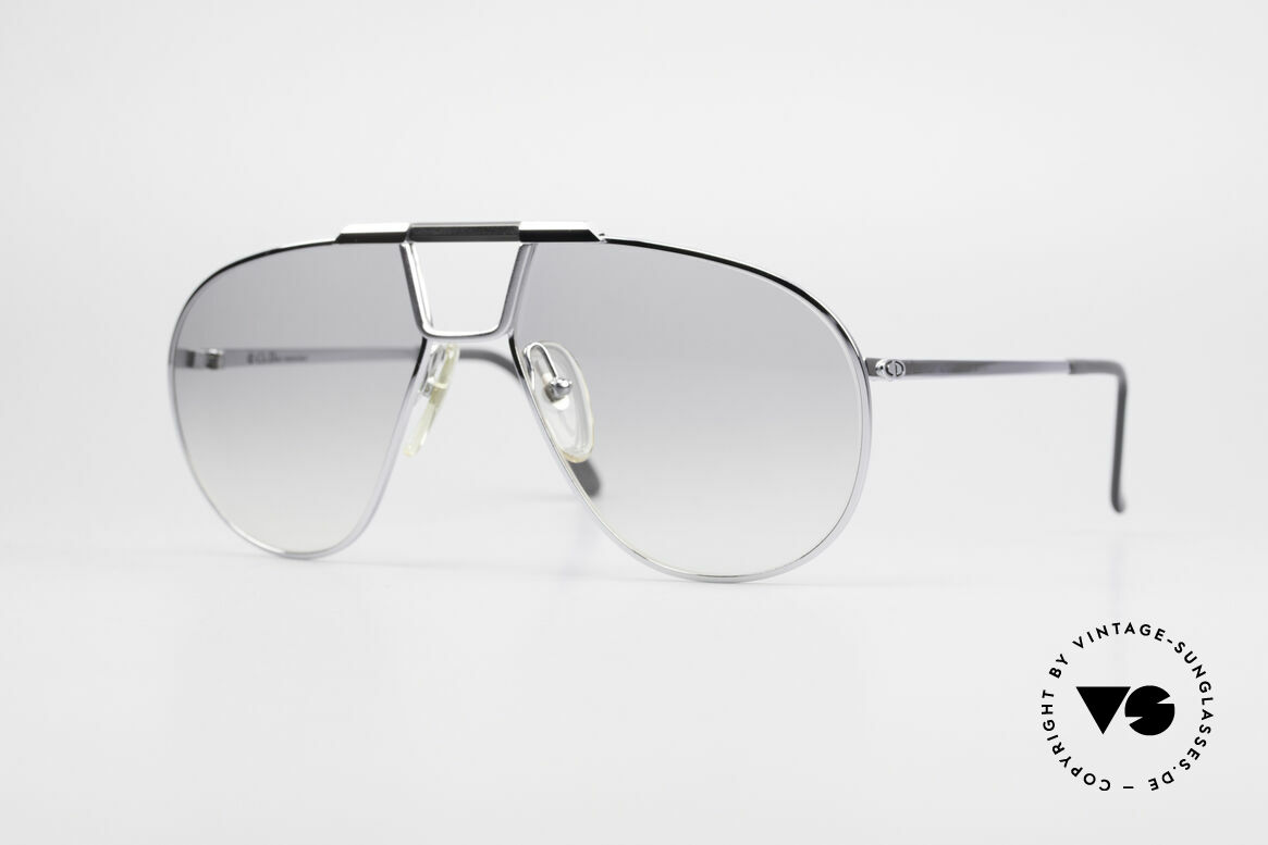 Christian Dior 2151 Monsieur Sunglasses Medium, pure elegance by Christian Dior from the 1980's, Made for Men