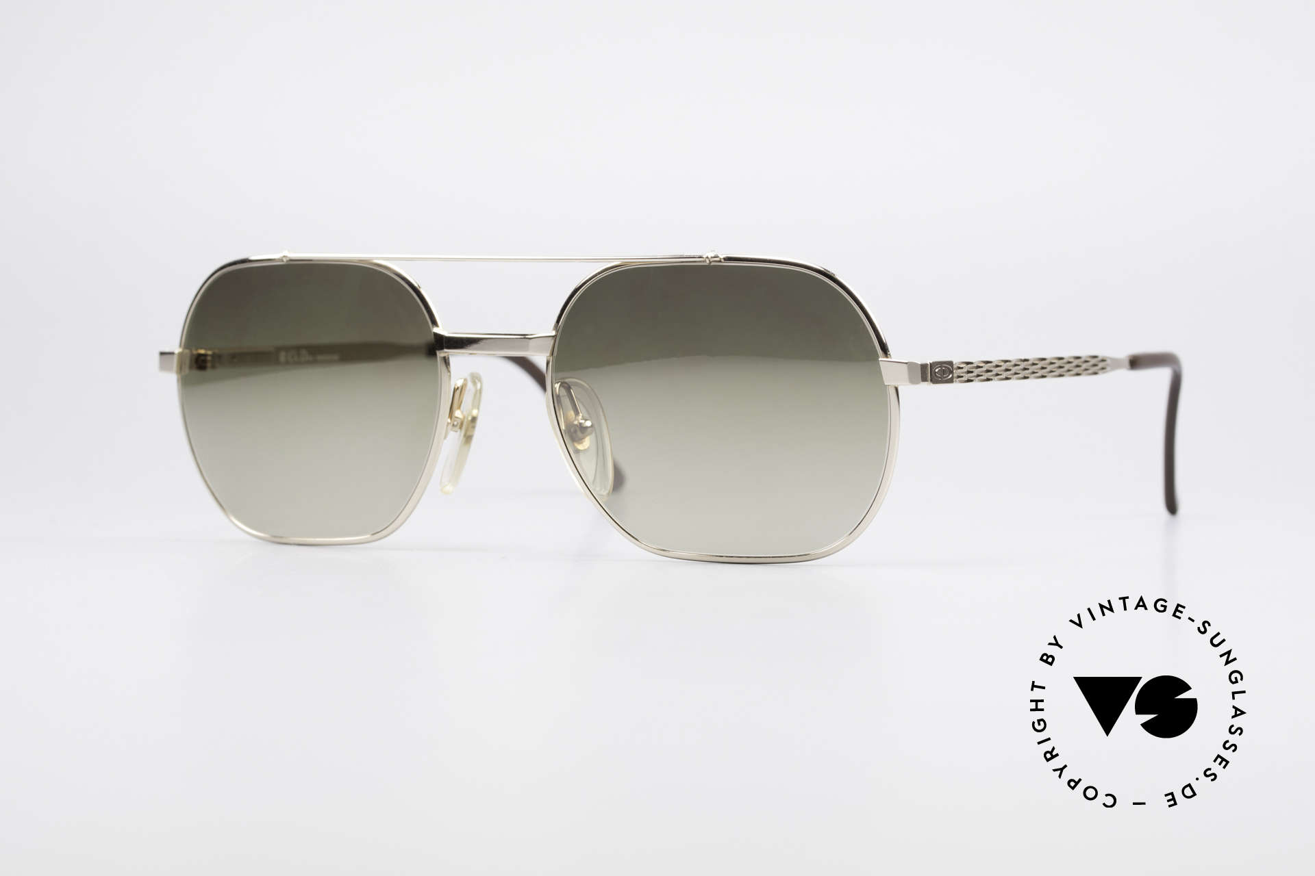 Christian Dior 2357 Legendary Monsieur Series, Christian Dior vintage 'Monsieur' designer sunglasses, Made for Men