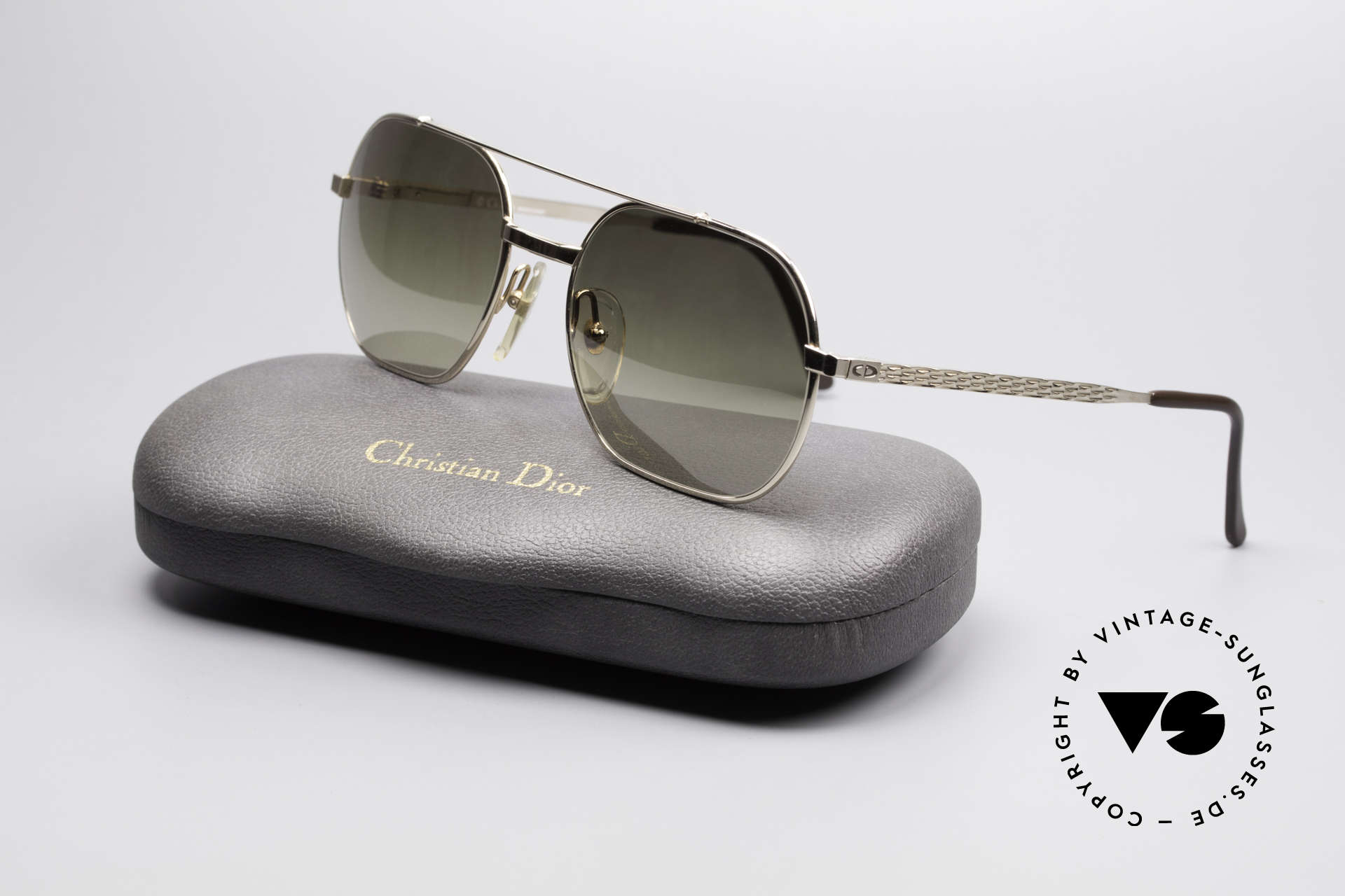 Christian Dior 2357 Legendary Monsieur Series, NO retro fashion; but a precious old original from 1986!, Made for Men