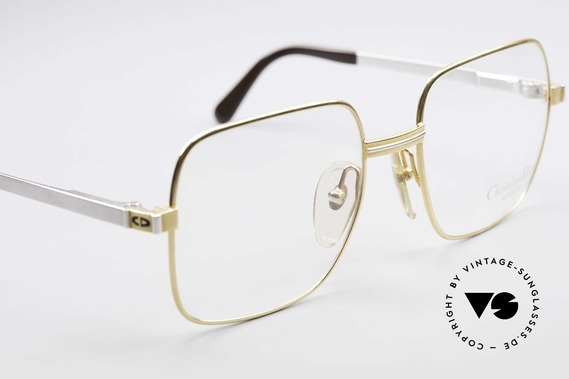 Christian Dior 2329 Dior Monsieur Vintage Frame, NO retro glasses, but a precious old original from 1987, Made for Men