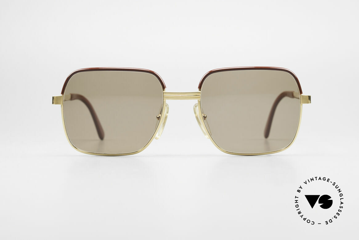 Christian Dior 2329 Dior Monsieur Vintage Shades, GOLD-PLATED frame with spring hinges (built to last), Made for Men