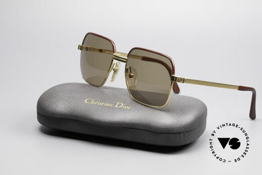 Christian Dior 2329 Dior Monsieur Vintage Shades, with brown CR39 sun lenses (for 100% UV protection), Made for Men