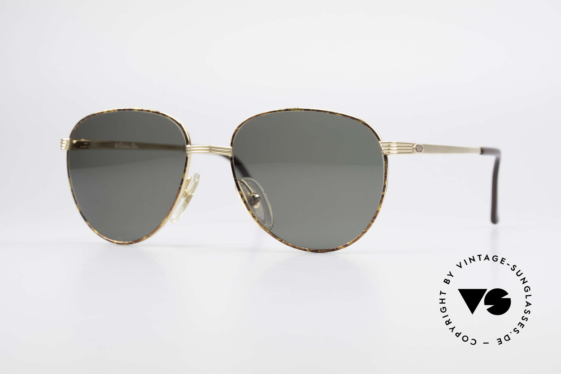 Christian Dior 2754 Round Panto Vintage Shades, round panto designer sunglasses by Christian Dior, Made for Men and Women