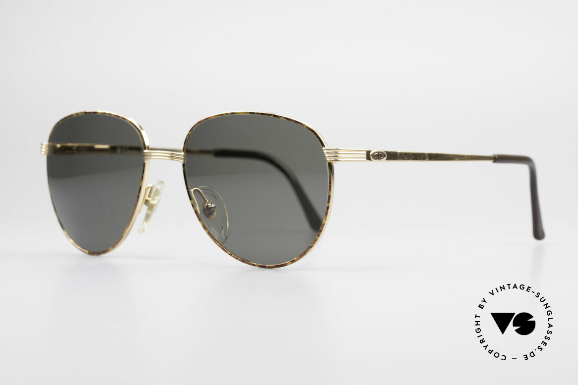 Christian Dior 2754 Round Panto Vintage Shades, double-coloured frame with flexible spring hinges, Made for Men and Women