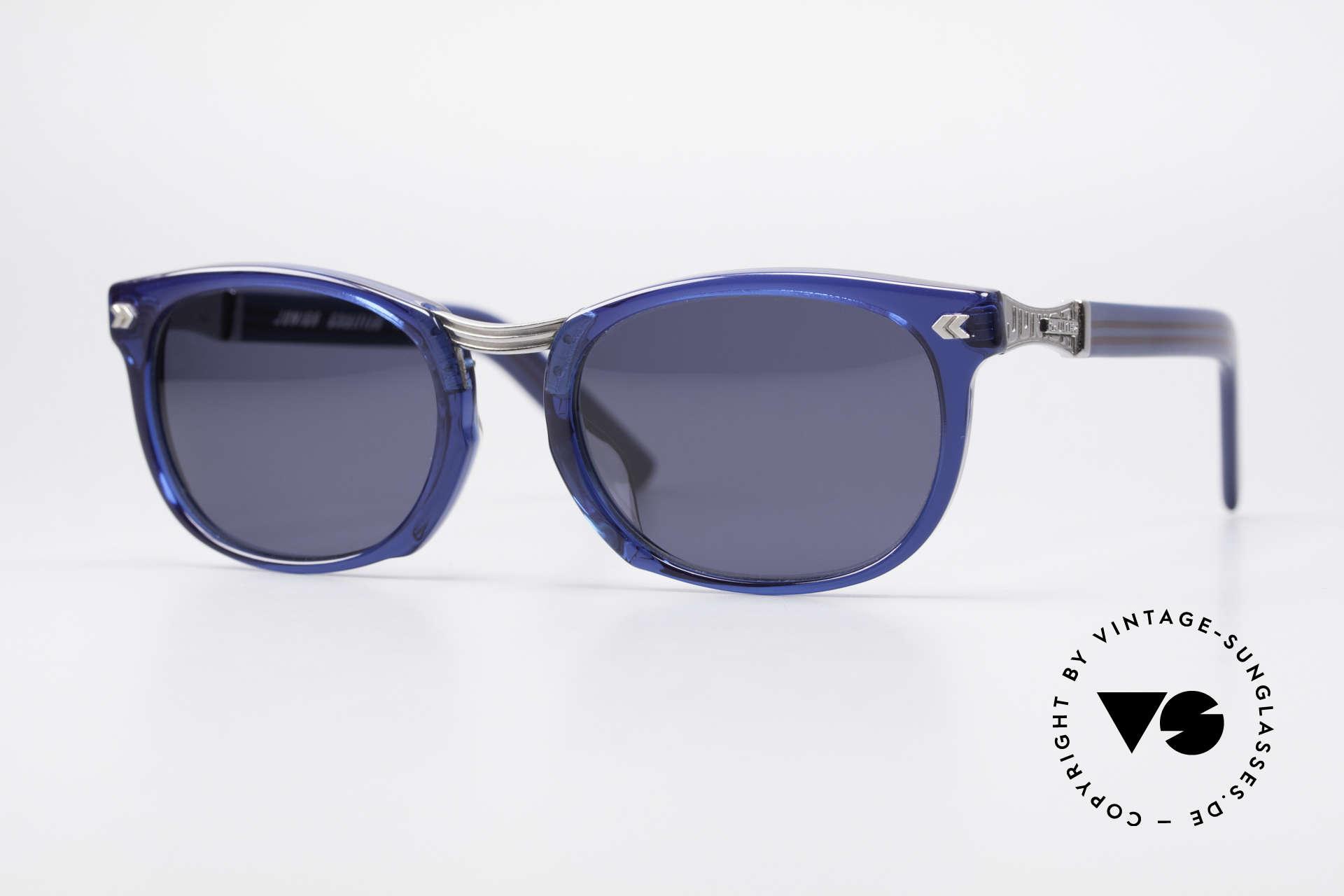 Jean Paul Gaultier 58-1271 Junior Gaultier Sunglasses, spectacular Jean Paul GAULTIER 90's designer shades, Made for Men and Women