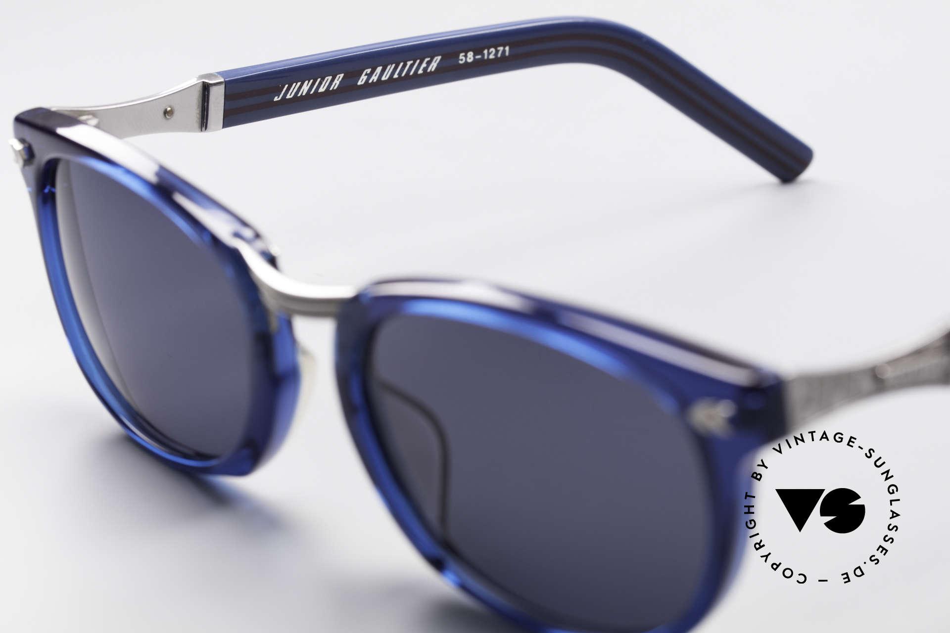 Jean Paul Gaultier 58-1271 Junior Gaultier Sunglasses, unworn, NOS (like all our old JPG designer sunglasses), Made for Men and Women