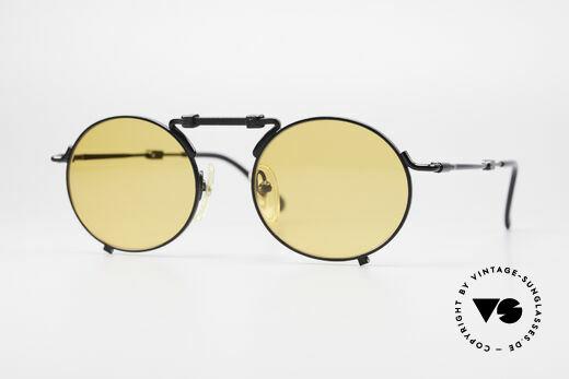 Jean Paul Gaultier 56-9171 90's Vintage Folding Sunglasses Details