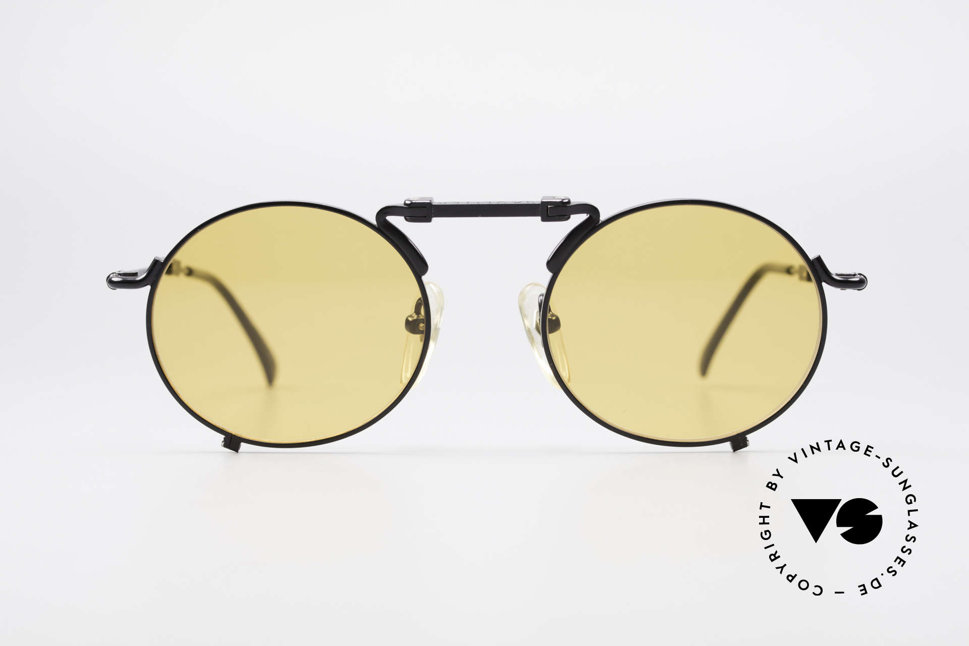 Jean Paul Gaultier 56-9171 90's Vintage Folding Sunglasses, practical folding model in great quality (rarity), Made for Men and Women