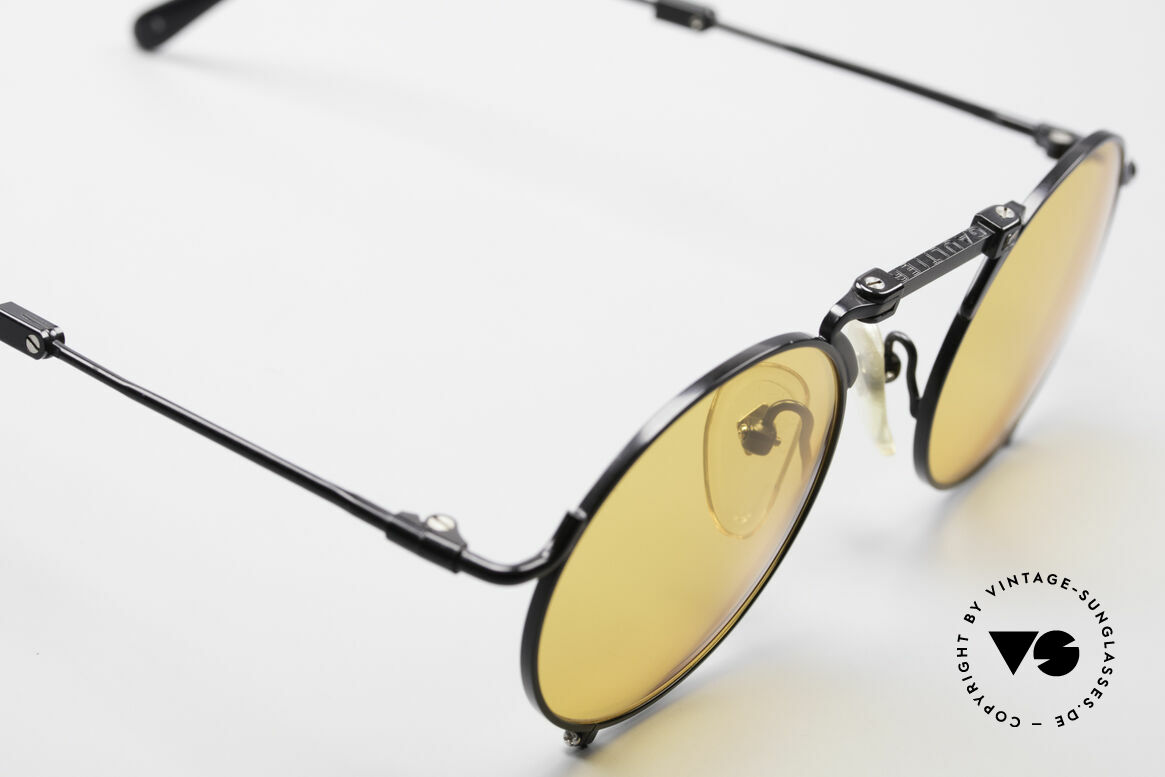 Jean Paul Gaultier 56-9171 90's Vintage Folding Sunglasses, unworn (like all our vintage J.P.Gaultier shades), Made for Men and Women