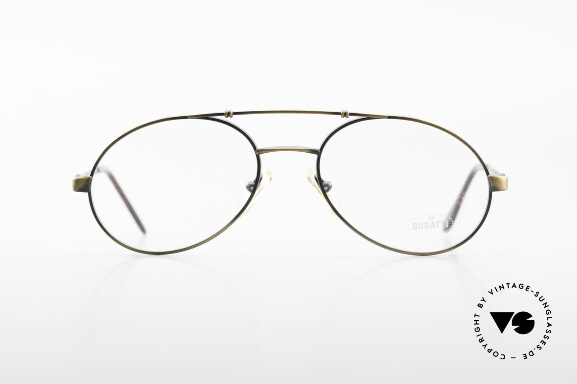 Bugatti 14823 Luxury 80's Eyeglass-Frame
