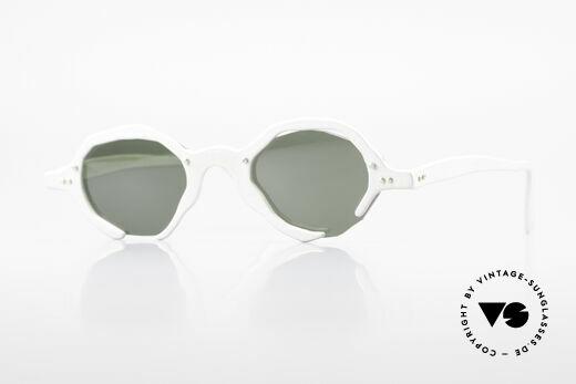 Theo Belgium Eye-Witness AD6 Avant-Garde Sunglasses 90's Details