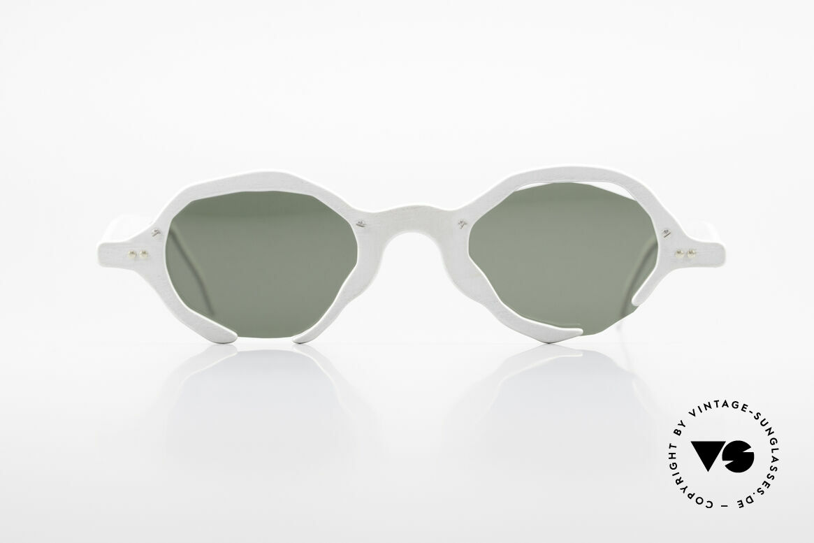 Theo Belgium Eye-Witness AD6 Avant-Garde Sunglasses 90's, founded in 1989 as 'opposite pole' to the 'mainstream', Made for Men and Women