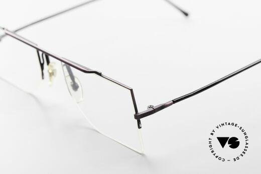 L.A. Eyeworks BURBANK 425 Square Vintage Eyeglasses