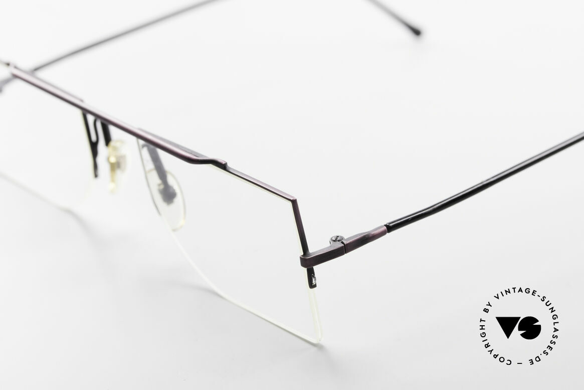 L.A. Eyeworks BURBANK 425 Square Vintage Eyeglasses, timeless & puristic, at the same time - a true classic, Made for Men and Women
