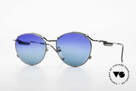 Jean Paul Gaultier 56-9174 Industrial 90's Sunglasses Details