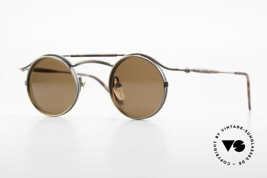 Matsuda 2903 Steampunk 90's Sunglasses Details