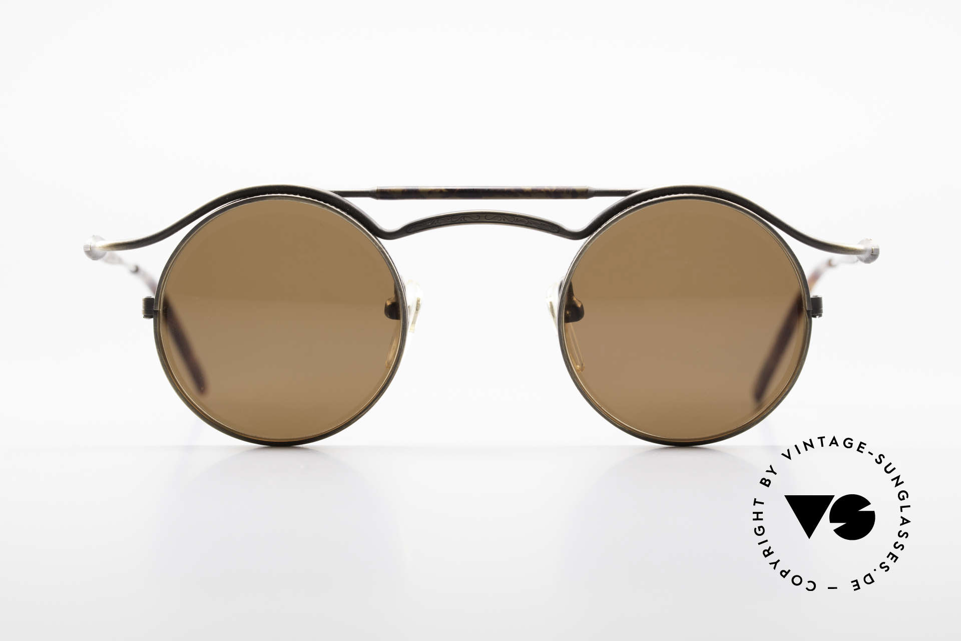 Matsuda 2903 Steampunk 90's Sunglasses, 'Steampunk sunglasses' by the jap. 'design manufactory', Made for Men and Women