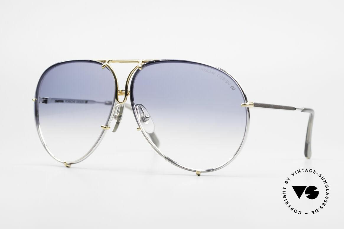 Porsche 5623 Johnny Depp Black Mass Shades, vintage Porsche Design by Carrera shades from 1987, Made for Men and Women