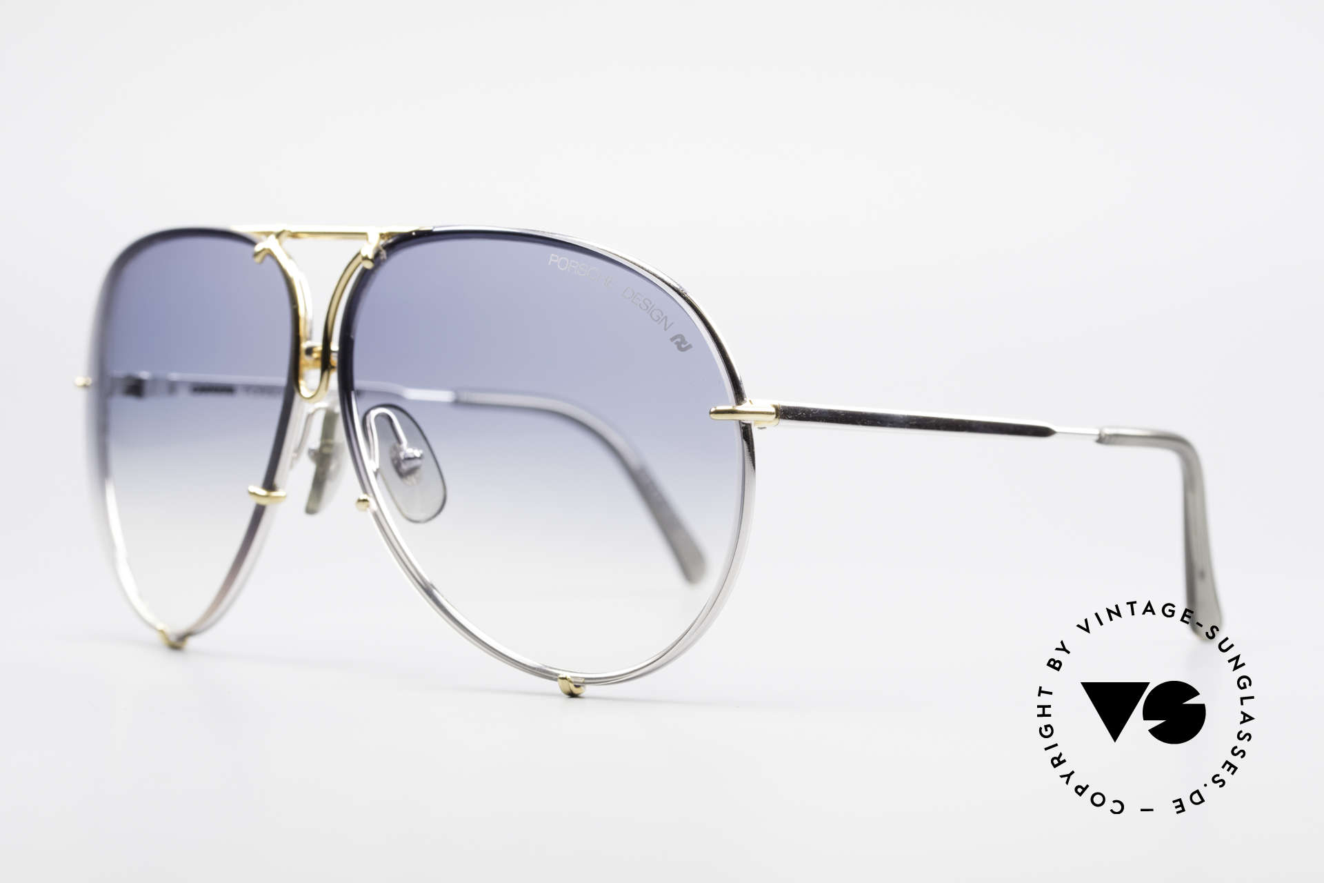 Porsche 5623 Johnny Depp Black Mass Shades, the legend with interchangeable lenses; true vintage, Made for Men and Women