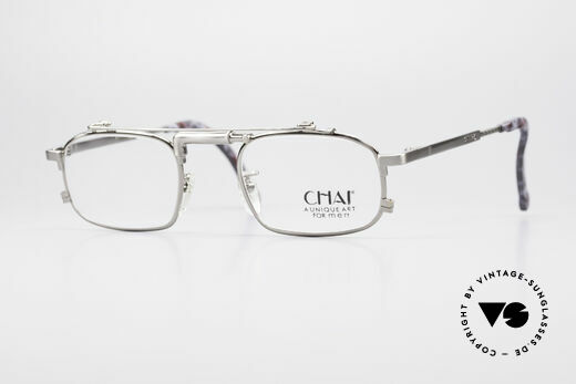 Chai No4 Square Industrial Vintage Eyeglasses Details