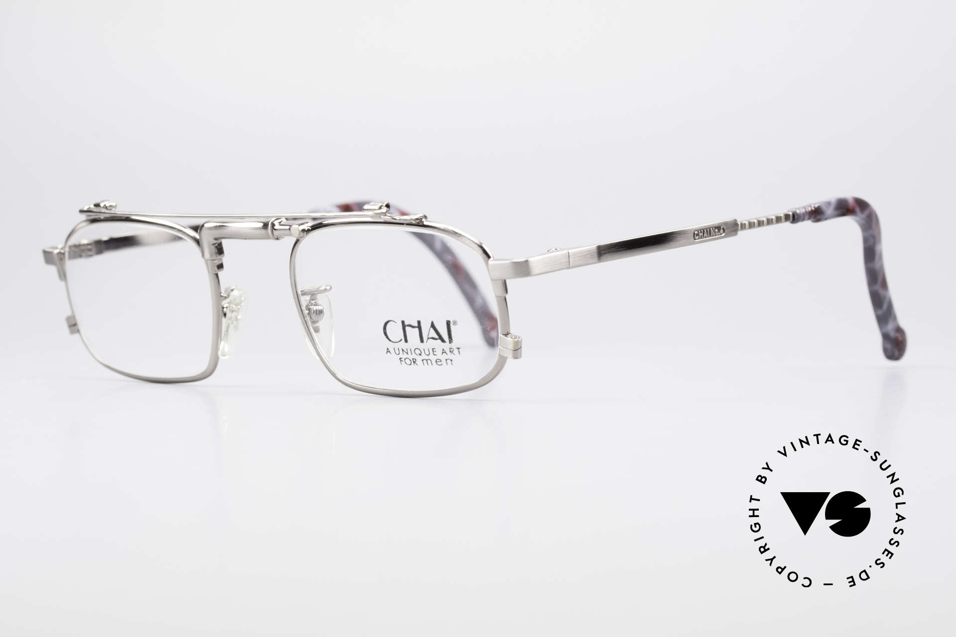 Chai No4 Square Industrial Vintage Eyeglasses, thus, opticans often called this model 'tap glasses', Made for Men and Women