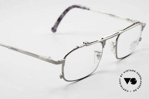 Chai No4 Square Industrial Vintage Eyeglasses, new old stock (like all our rare 80s designer specs), Made for Men and Women
