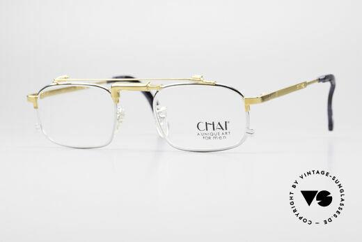 Chai No4 Square Vintage Industrial Eyeglasses Details