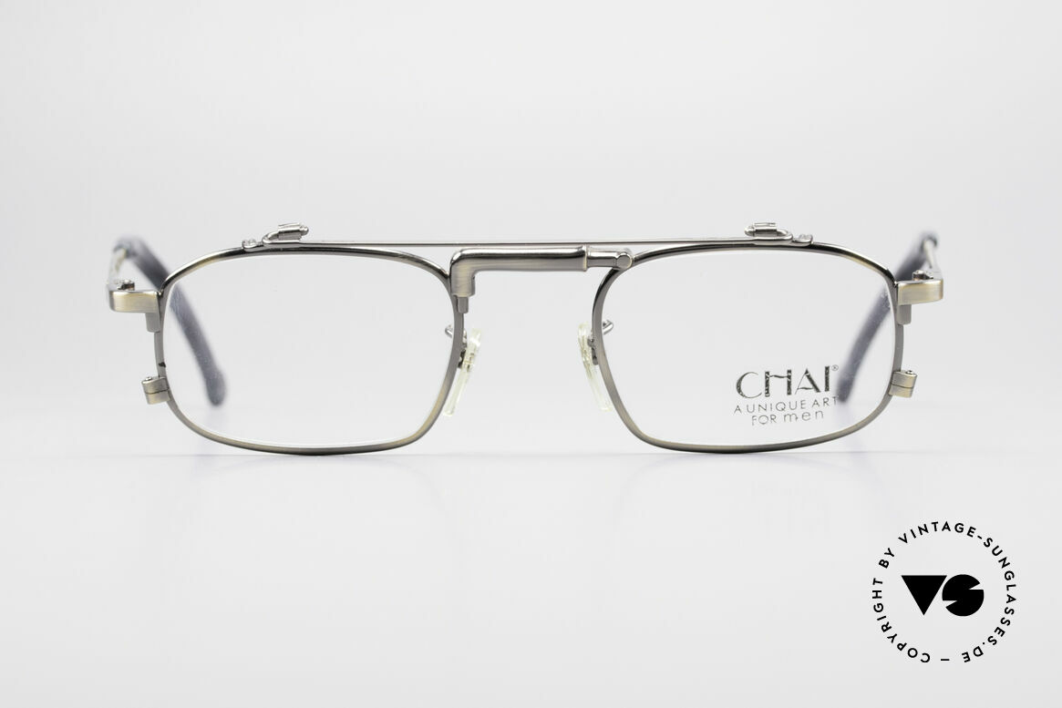 Chai No4 Square Unique Art For Men Glasses, the inventive frame bridge looks like a 'water-tap', Made for Men and Women