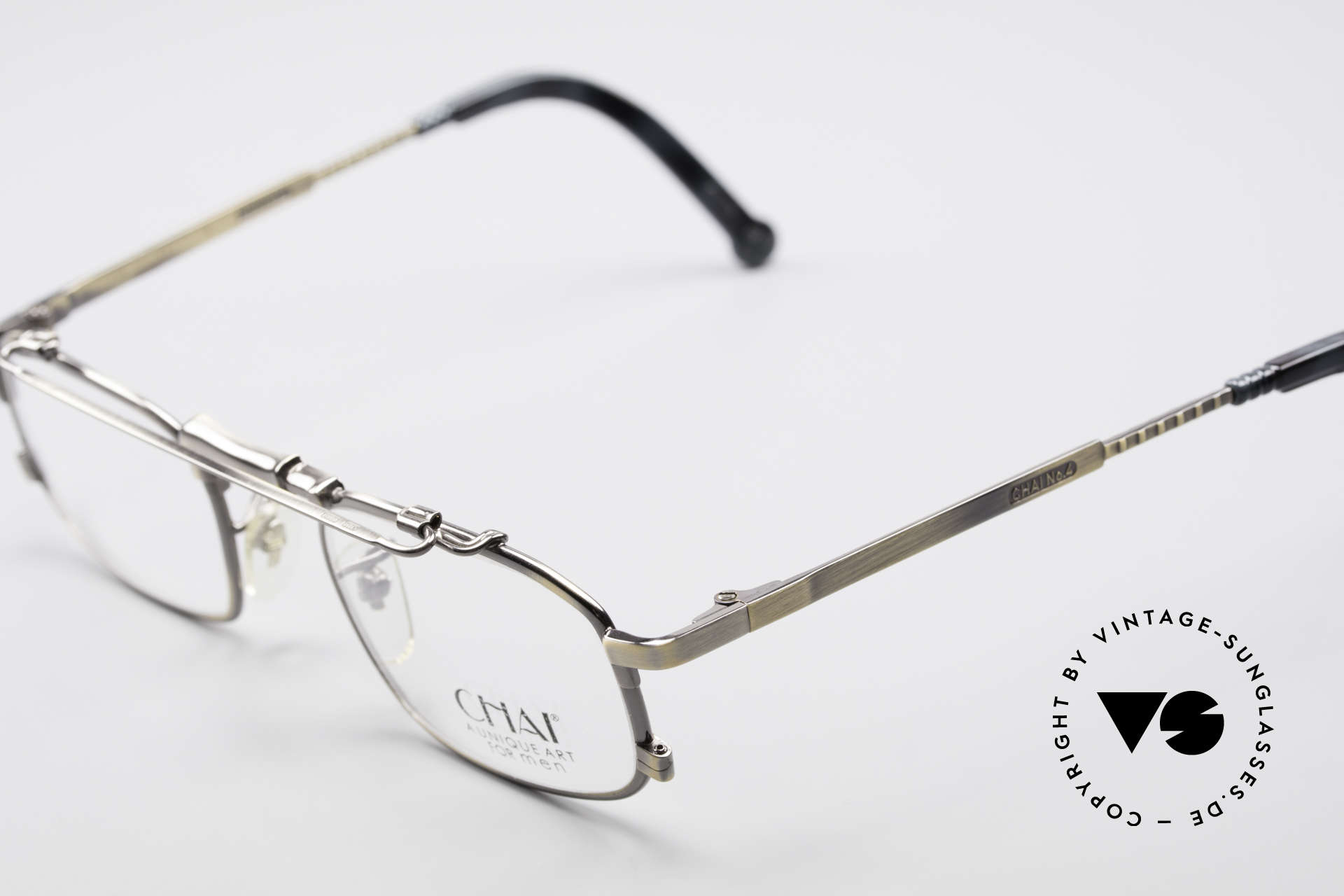 Chai No4 Square Unique Art For Men Glasses, however, a great old designer piece from Germany, Made for Men and Women