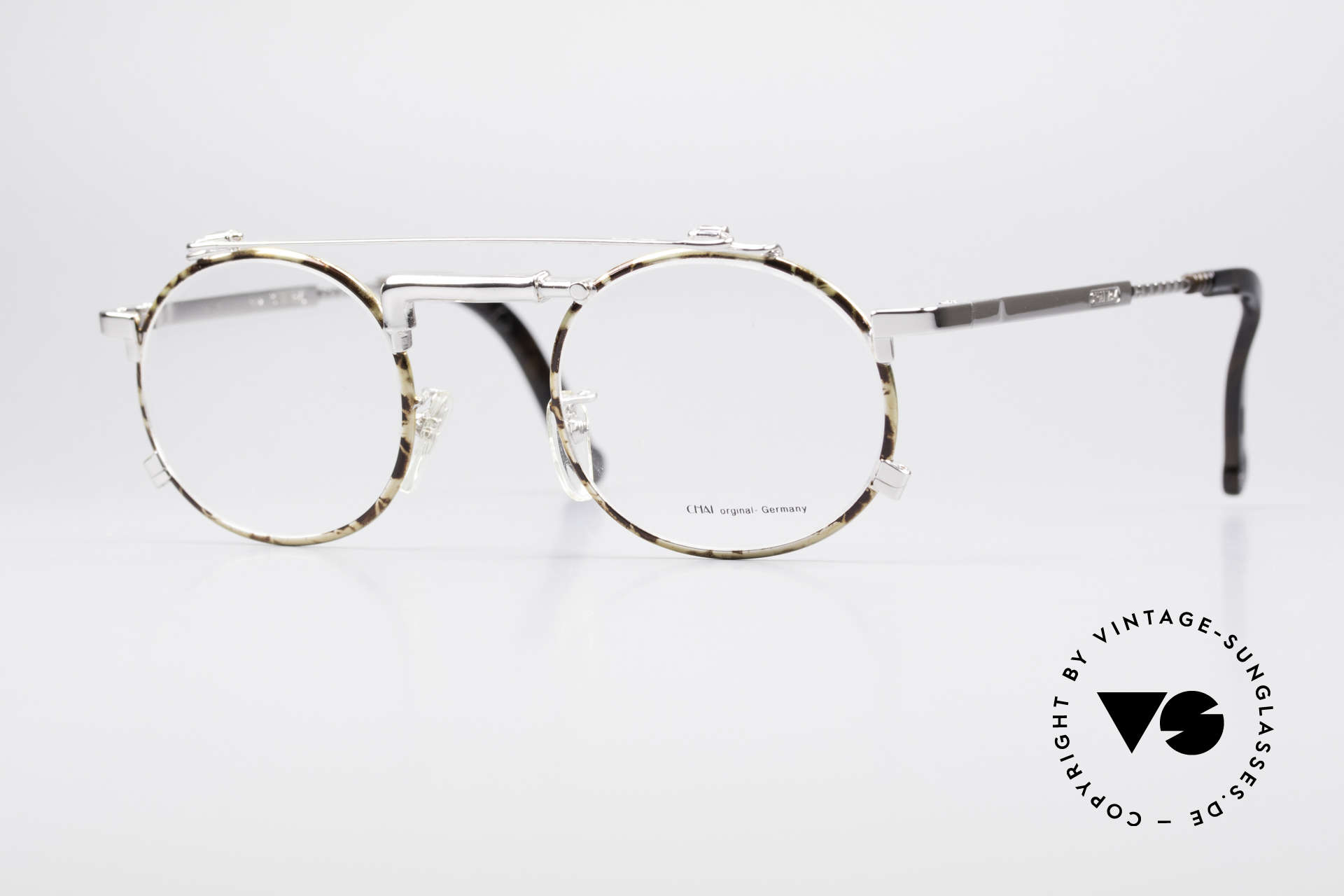 Chai No4 Round Industrial Vintage Eyeglasses, extraordinary VINTAGE eyeglasses-frame by CHAI, Made for Men and Women