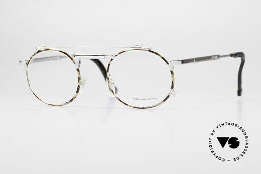 Chai No4 Round Industrial Vintage Eyeglasses Details