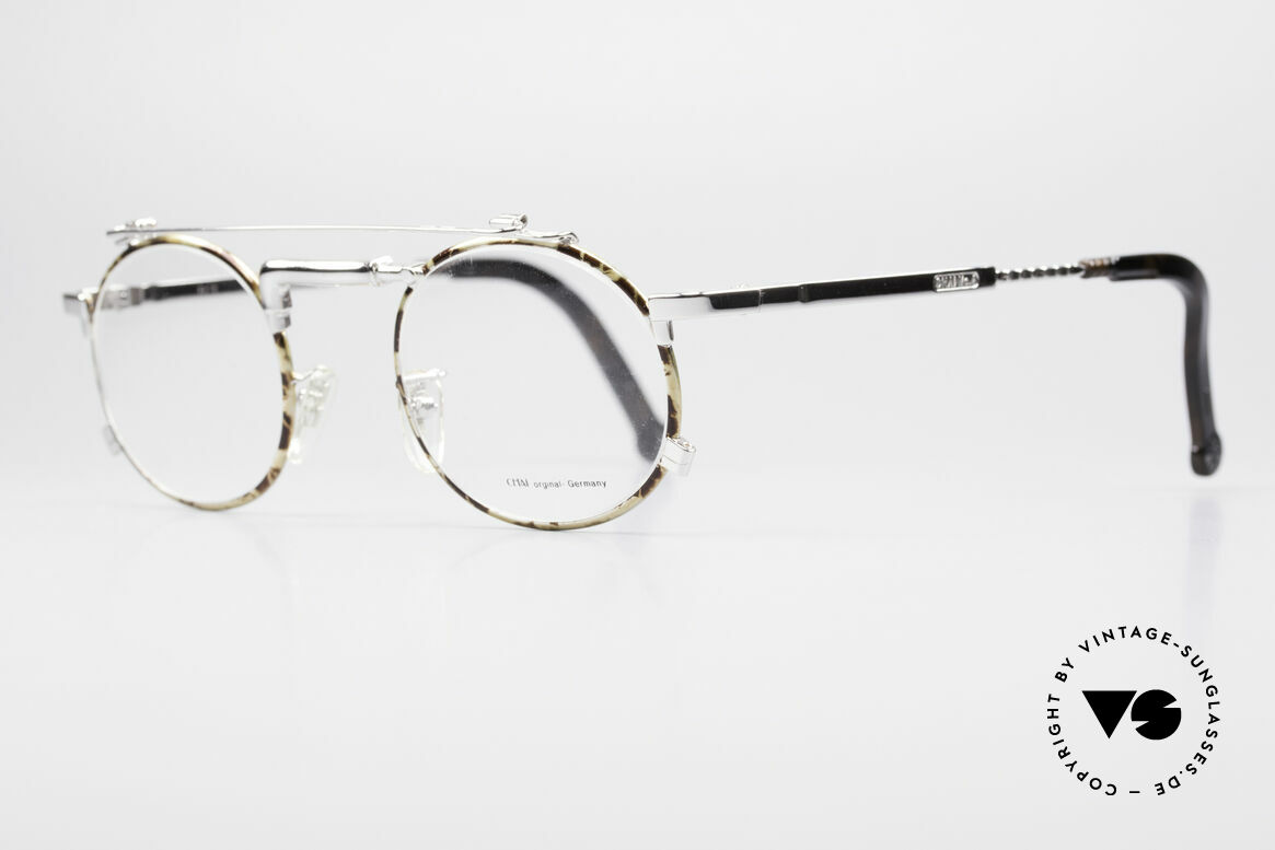 Chai No4 Round Industrial Vintage Eyeglasses, thus, opticans often called this model 'tap glasses', Made for Men and Women
