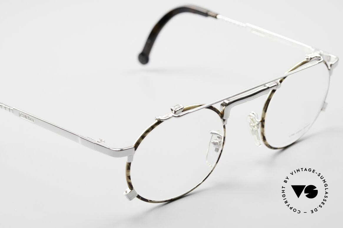 Chai No4 Round Industrial Vintage Eyeglasses, high-end quality (built to last) & industrial style!, Made for Men and Women