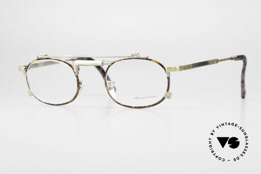 Chai No4 Oval Industrial Vintage Eyeglasses Details