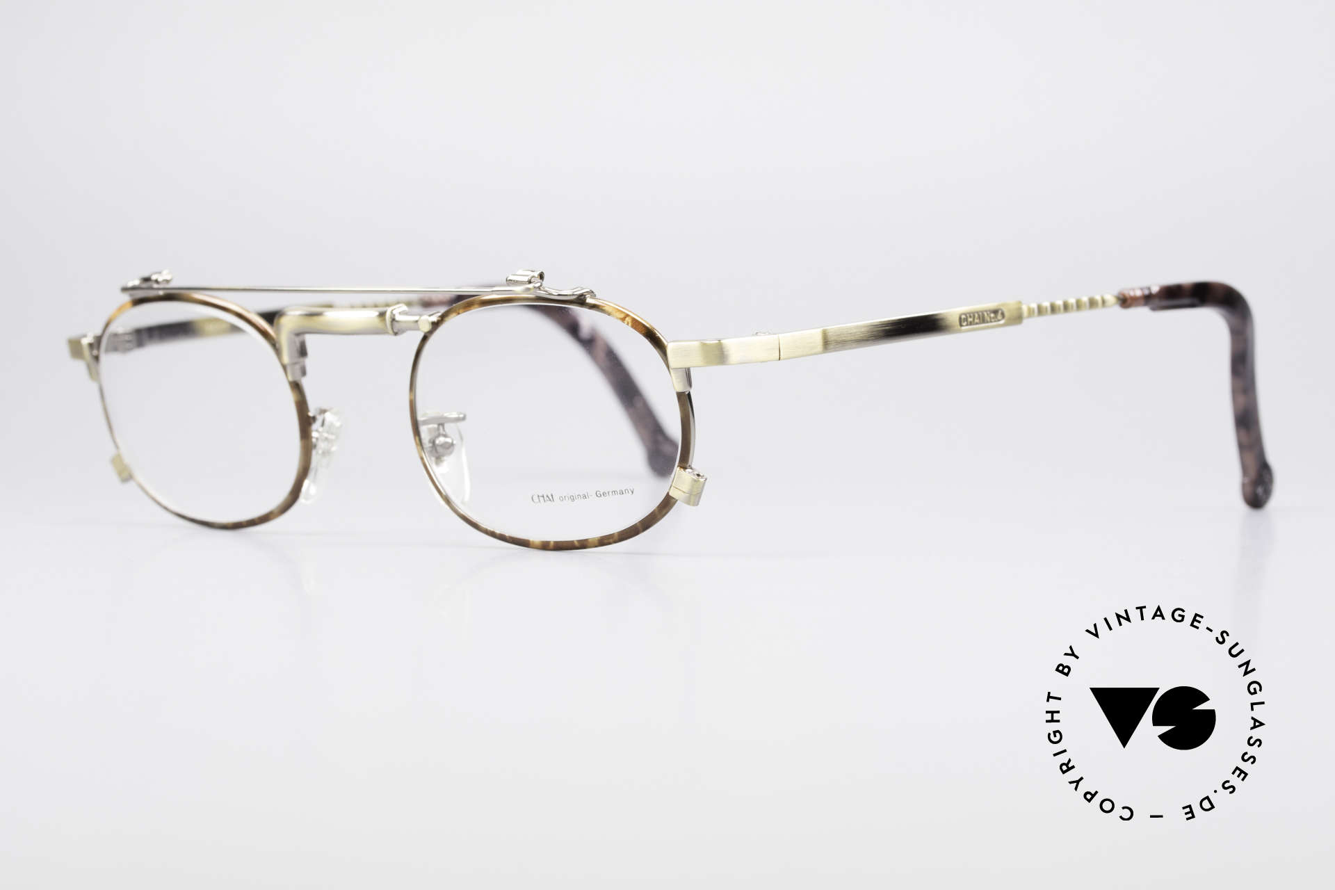 Chai No4 Oval Industrial Vintage Eyeglasses, thus, opticans often called this model 'tap glasses', Made for Men and Women