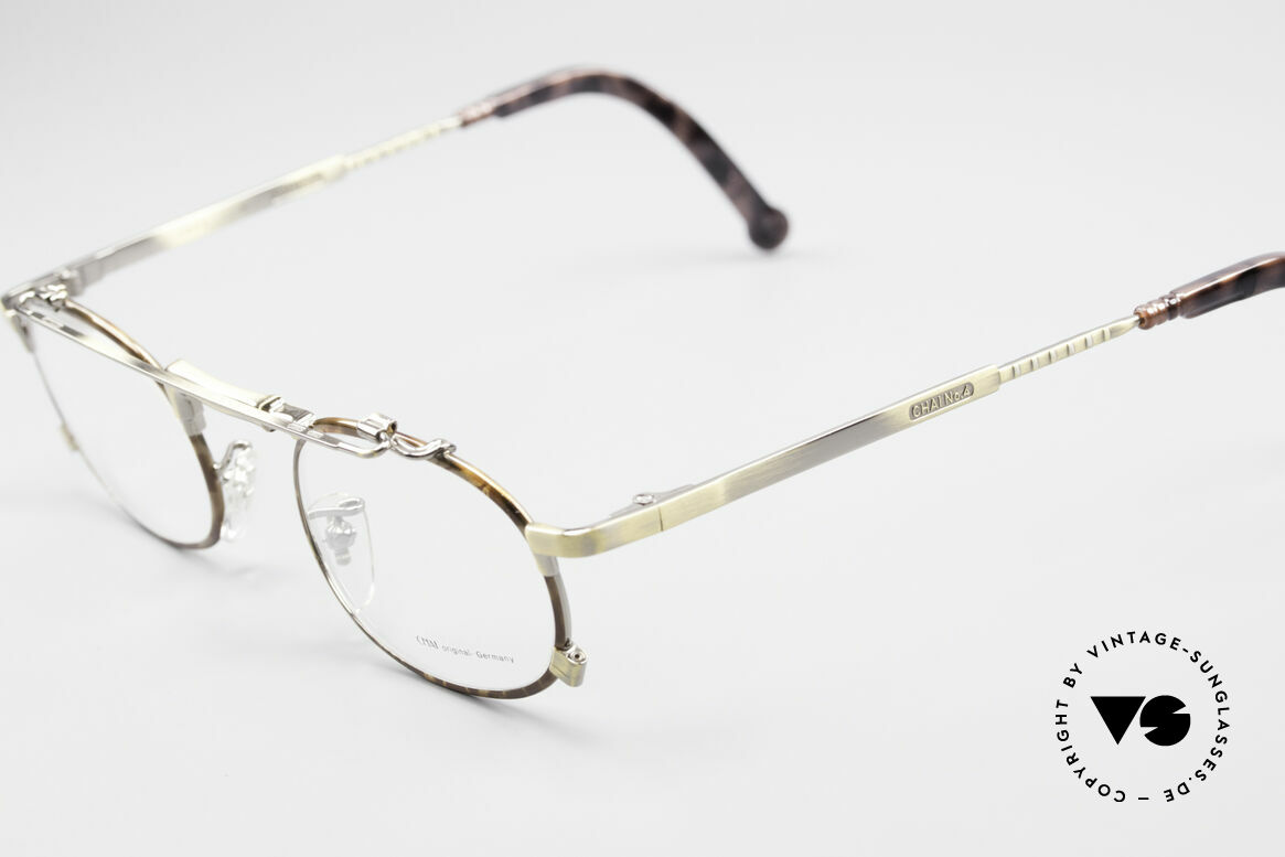 Chai No4 Oval Industrial Vintage Eyeglasses, however, a great old designer piece from Germany, Made for Men and Women