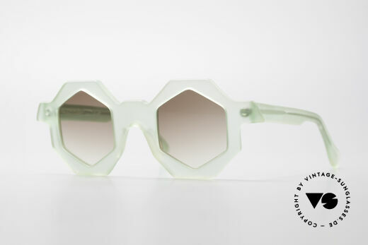 Alain Mikli 0157 / 938 Hexagonal 80's Sunglasses Details