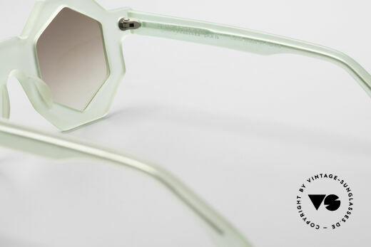 Alain Mikli 0157 / 938 Hexagonal 80's Sunglasses