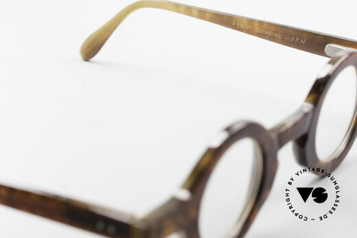 Proksch's P218 Buffalo Horn Round Frame, NO RETRO, a true collector's item from the late 1980's!, Made for Men and Women