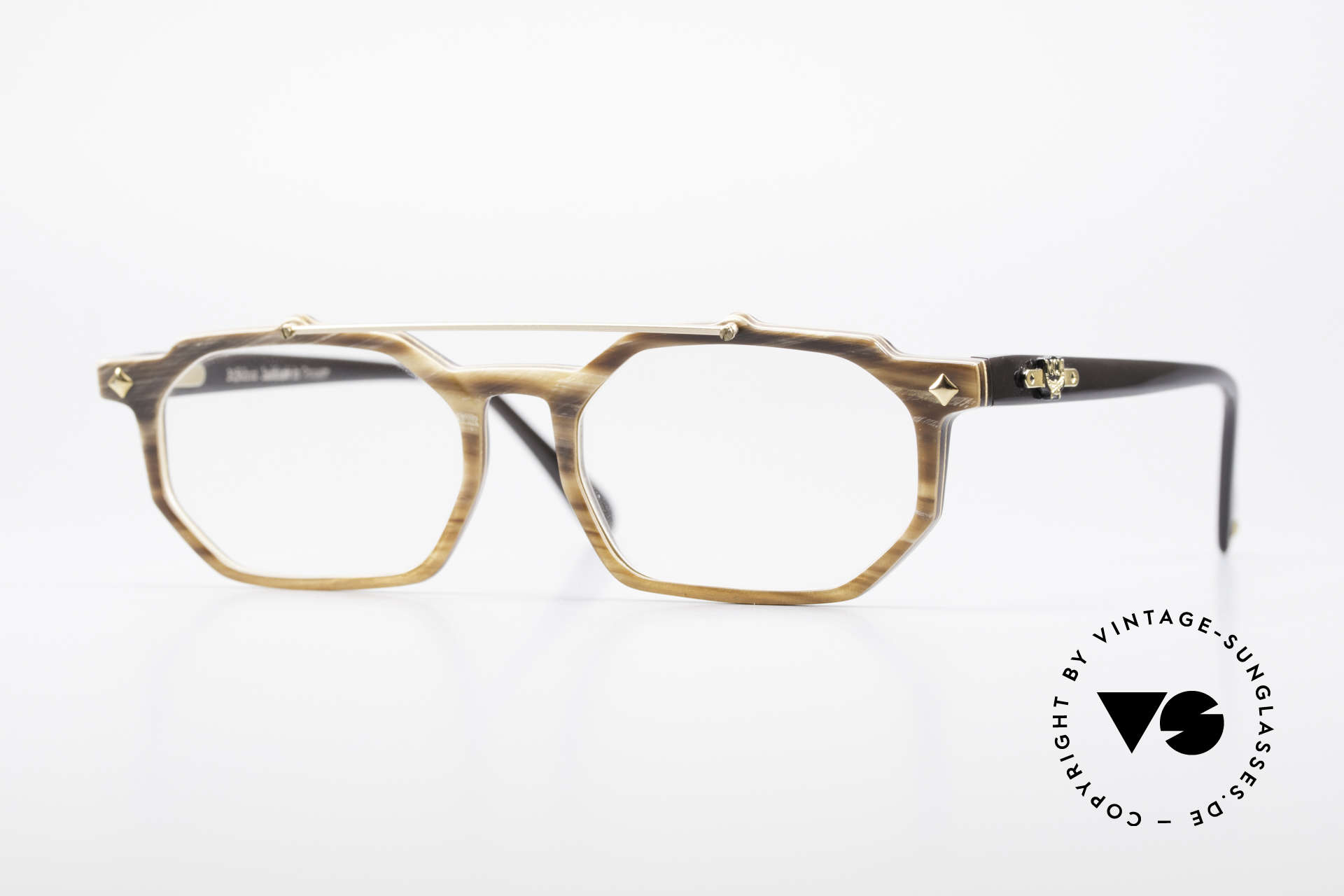 MCM München 301 Buffalo Horn Vintage Frame, luxury horn eyeglasses by MCM from the 1980's, Made for Men and Women