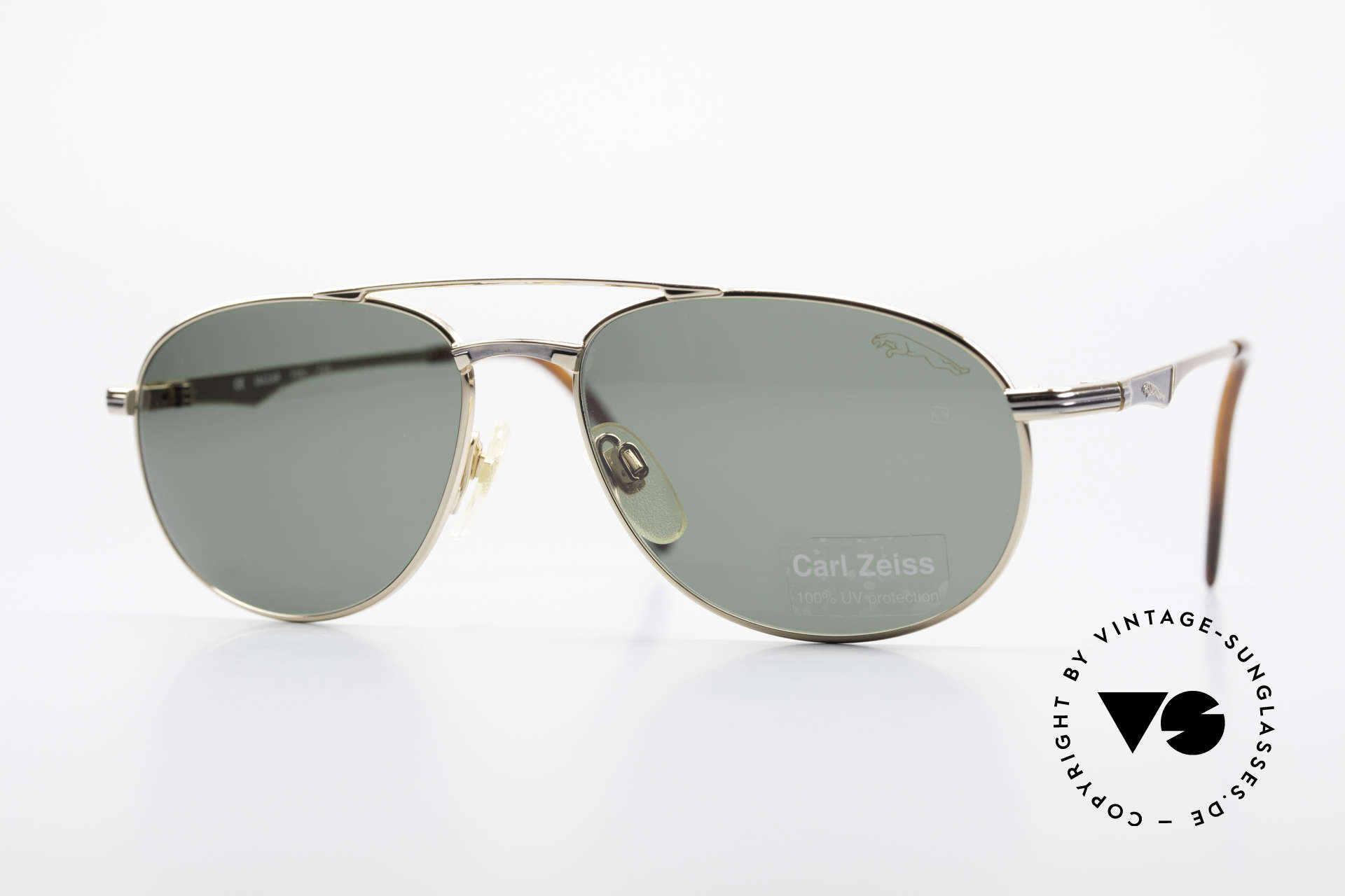 Jaguar 3709 Rare Vintage Sunglasses 90's, rare vintage Jaguar sunglasses from the early 1990s, Made for Men