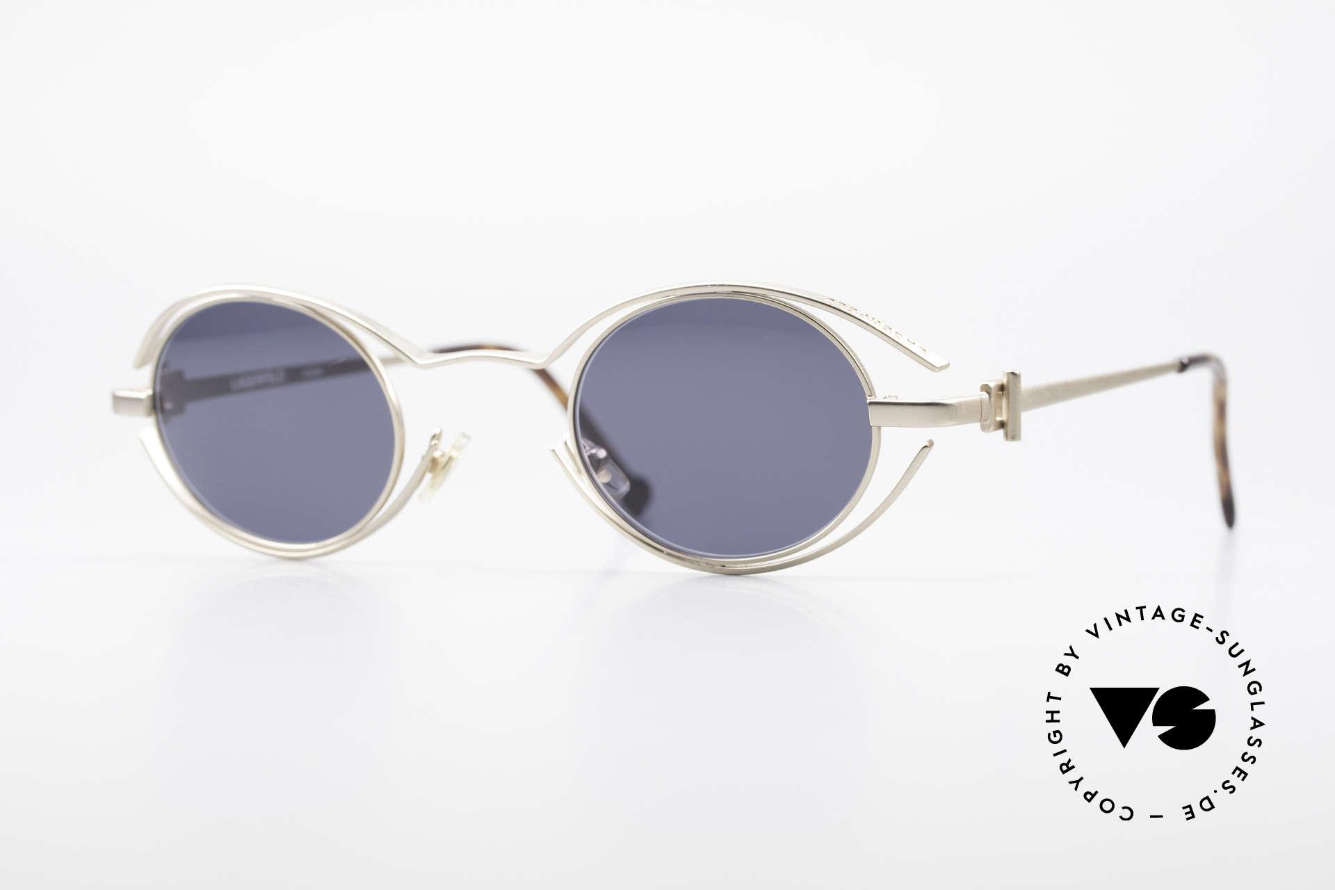 6f543bafea91 Sunglasses Karl Lagerfeld 4123 Oval 90 s Designer Shades