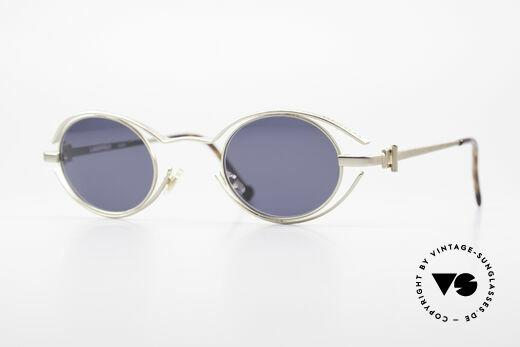 Karl Lagerfeld 4123 Oval 90's Designer Shades Details