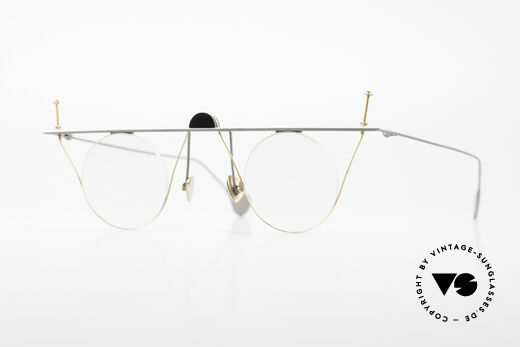 Paul Chiol 07 Rimless Art Glasses Bauhaus Details