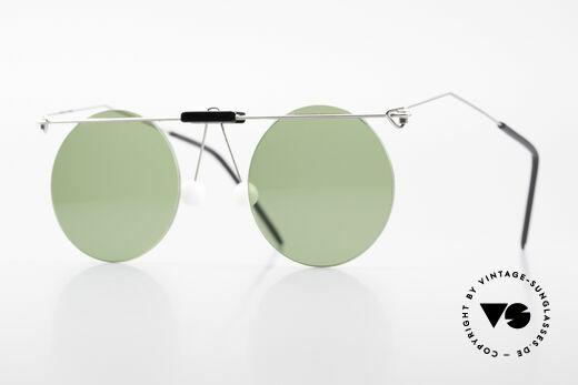 Kim Buck DK No Retro Vintage Sunglasses Details
