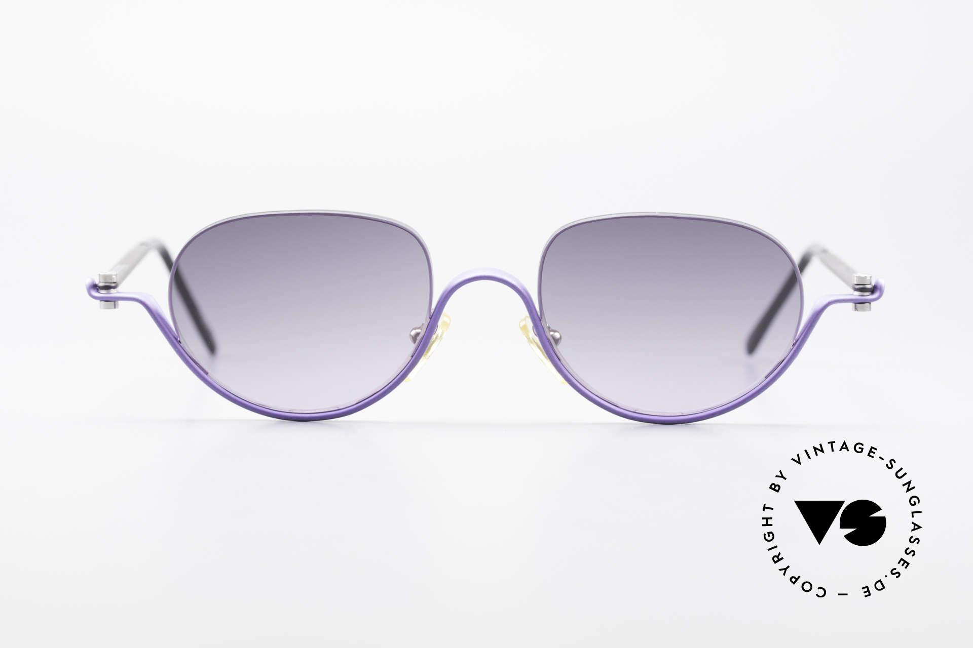 ProDesign No8 Gail Spence Design Sunglasses, true vintage aluminium frame - Gail Spence Design, Made for Women