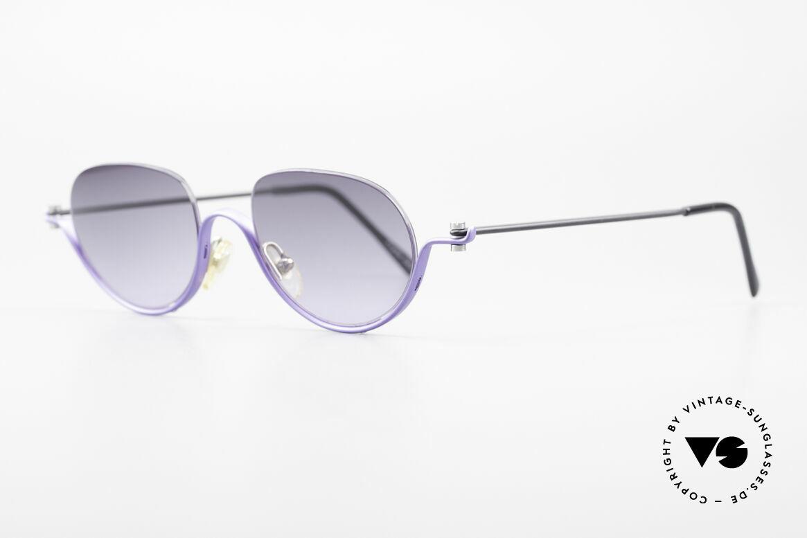 ProDesign No8 Gail Spence Design Sunglasses, successor of the legendary Pro Design N° ONE model, Made for Women